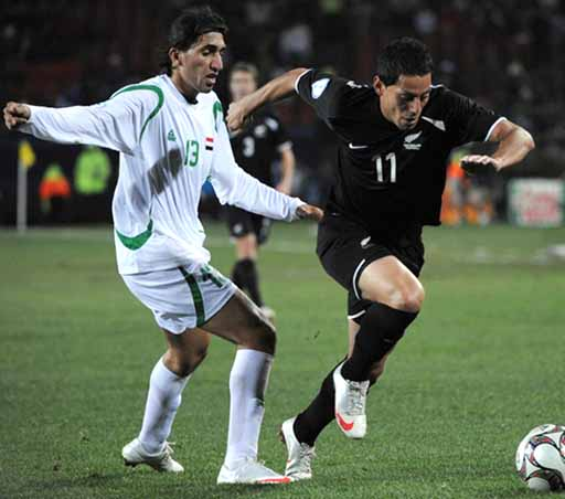 Image result for new zealand iraq 0-0 2009