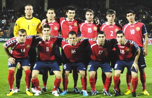 Armenia-08-09-hummel-home-kit-red-navy-red-line-up.jpg