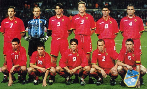 Belgium-96-97-DIADORA-uniform-red-red-red-group.JPG