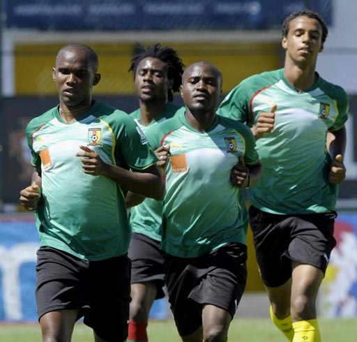 Cameroon-10-PUMA-training-green.JPG