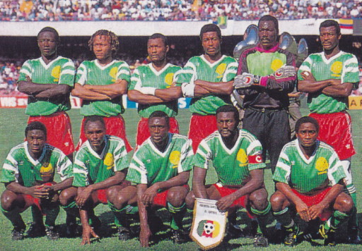 Cameroon-90-adidas-home-kit-green-red-green-line-up.jpg