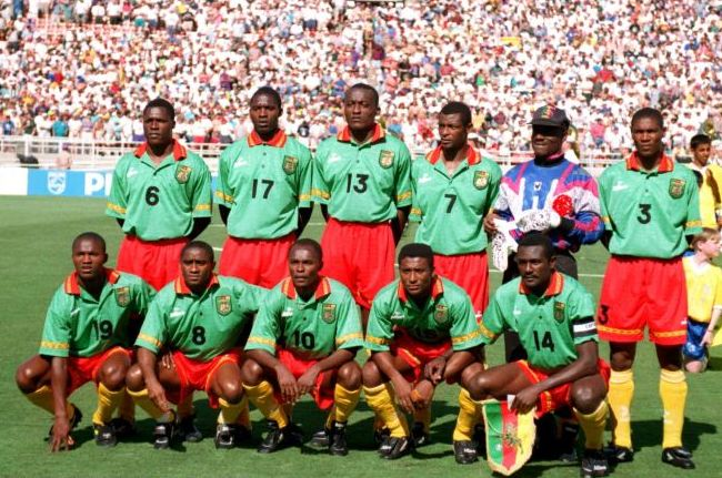 Cameroon-94-mitre-world-cup-home-kit-green-red-yellow-line-up.jpg