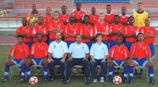 Cayman Islands-01-unknown-home-kit-red-blue-blue-line-up.JPG
