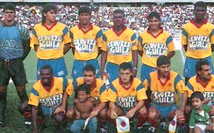 Colombia-92-Comba-home-kit-yellow-blue-red-line up.JPG