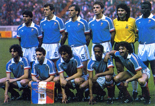 France-88-89-adidas-home-kit-blue-white-red-pose.JPG