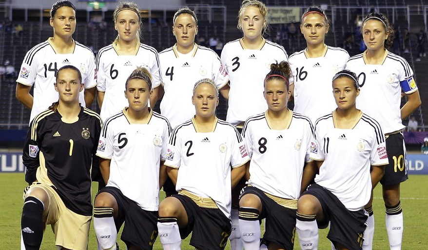 Germany-12-adidas-U20-women-home-kit-white-black-white-line-up.jpg
