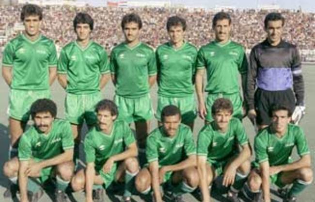 Iraq-1986-kit-green-green-green-line-up.jpg