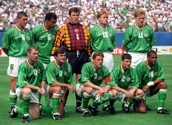 Ireland-1994-adidas-world-cup-home-kit-green-white-green-line-up.jpg