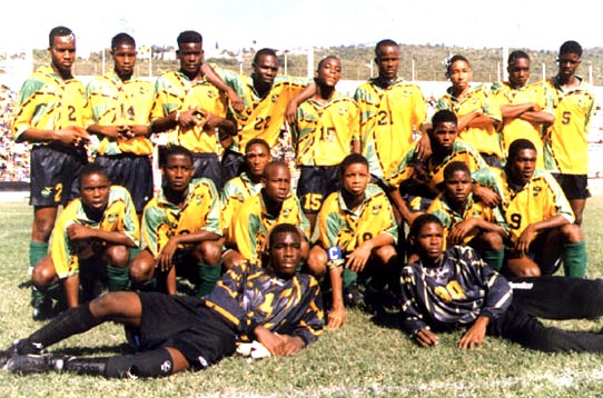 Jamaica-94-95-LANZERA-home-kit-yellow-black-green-line up.JPG