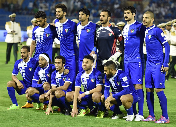 Kuwait-2014-uhlsport-home-kit-blue-blue-blue-line-up.jpg