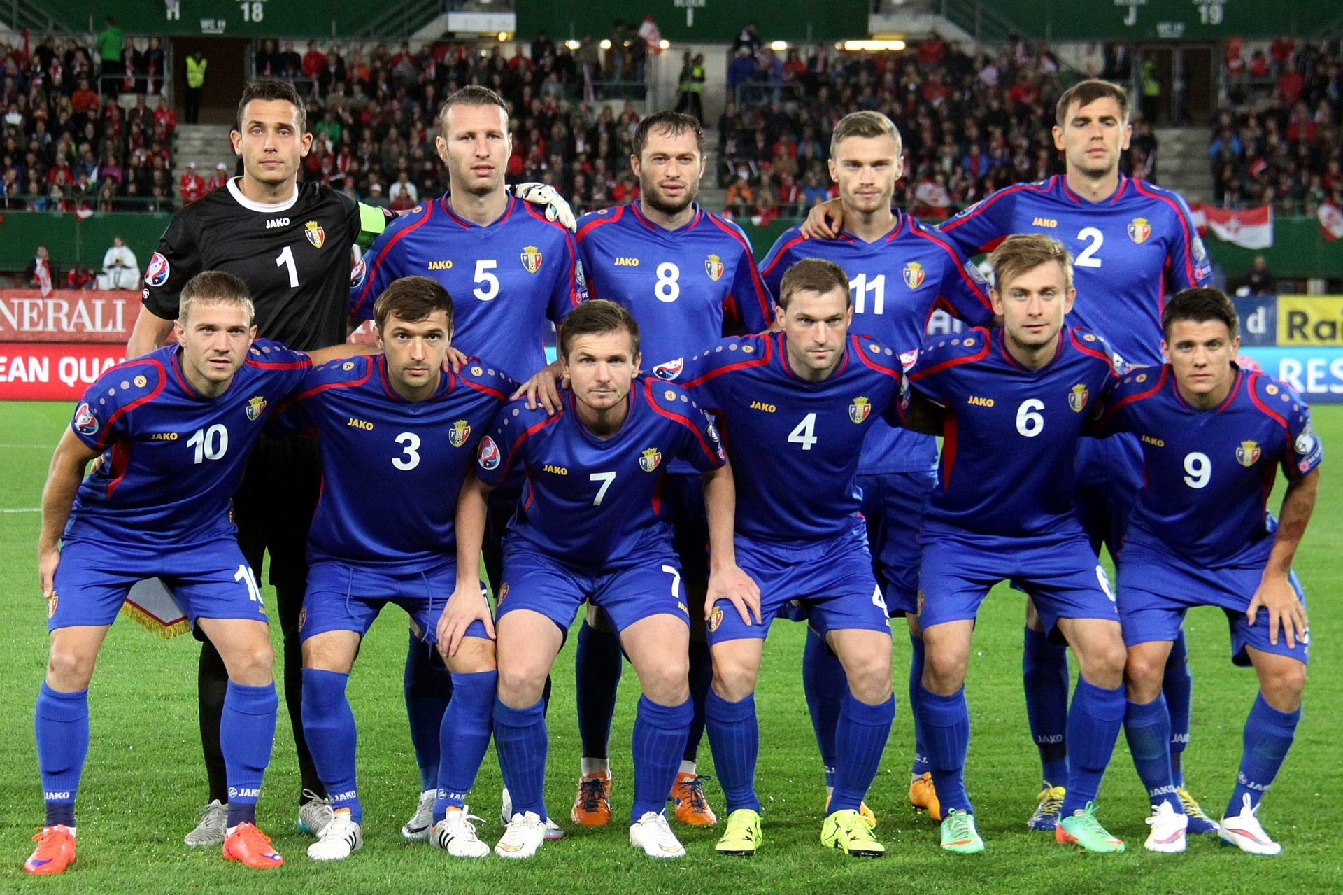 Moldova-2014-15-JAKO-home-kit-blue-blue-blue-line-up.jpg