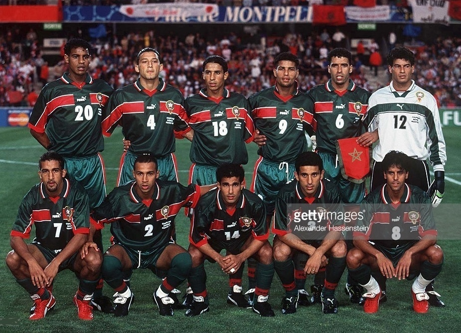 Morocco-1998-PUMA-world-cup-home-kit-green-green-green-line-up.jpg