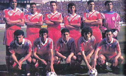 Morocco-93-adidas-home-kit-red-red-red-line-up.jpg