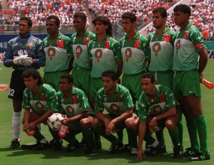 Morocco-94-lotto-world-cup-away-kit-green-green-green-line-up.jpg