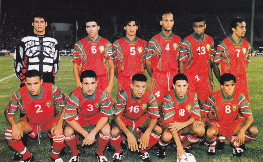 Morocco-97-adidas-home-kit-red-red-red-line-up.jpg