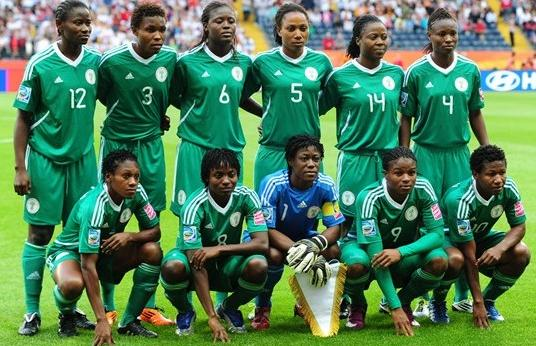 Nigeria-11-adidas-women-home-kit-green-green-green-line up.JPG