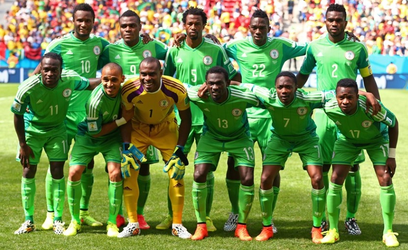 Nigeria-14-15-adidas-home-kit-green-green-green-line-up.jpg