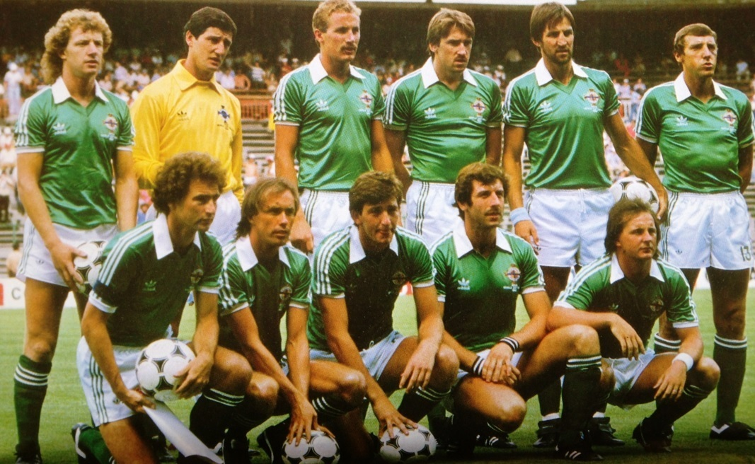 Northern-Ireland-1982-adidas-home-Kit-green-white-green-line-up.jpg