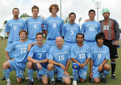 Northern Mariana Islands-09-NIKE-home-kit-light blue-light blue-light blie-line-up.JPG