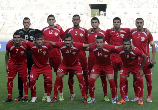 Palestine-14-no-name-asian-games-home-kit-red-red-red-line-up.jpg