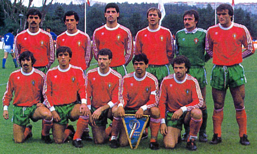 Portugal-87-adidas-unform-red-green-red-group.JPG