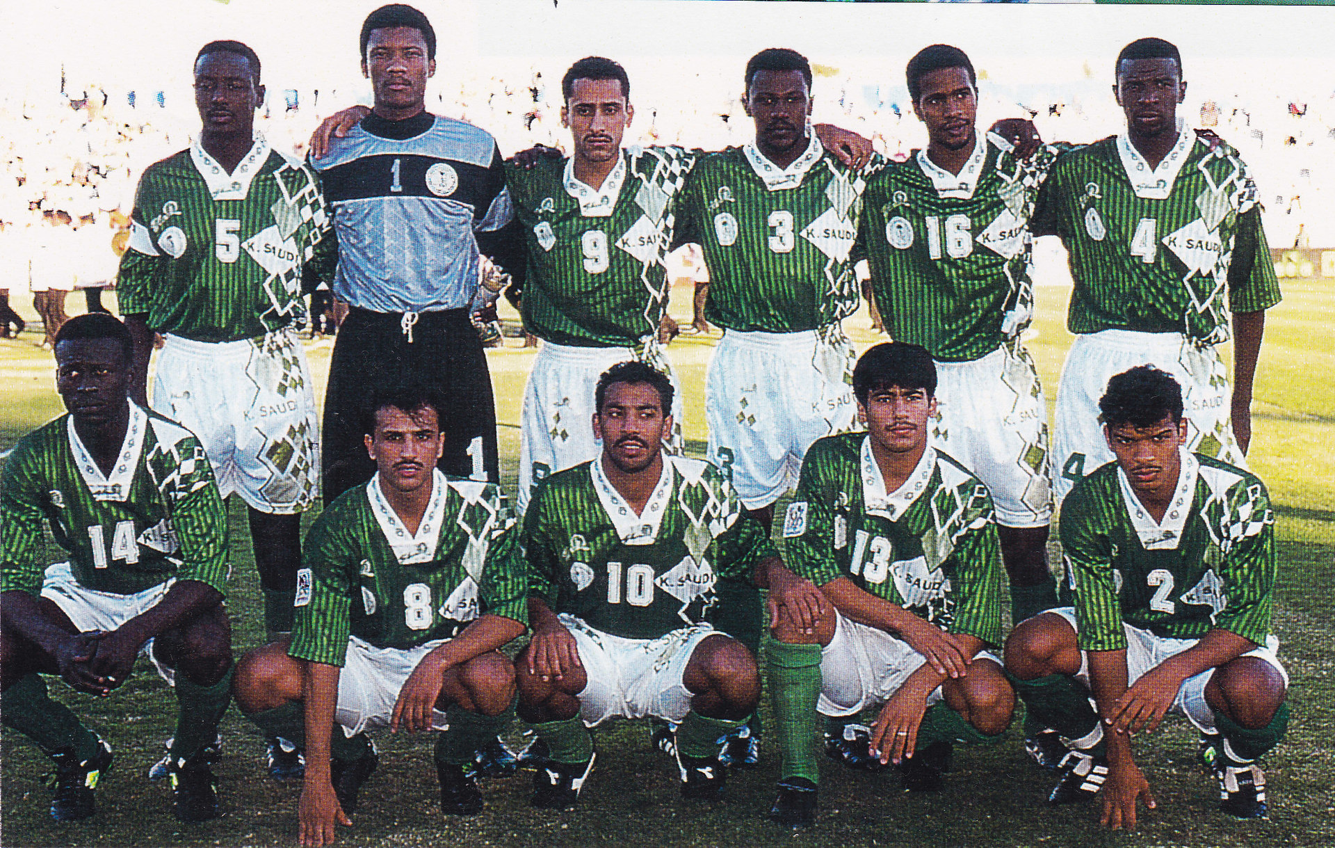 Saudi-Arabia-1996-Shamel-asian-cup-away-kit-green-white-green-line-up.jpg