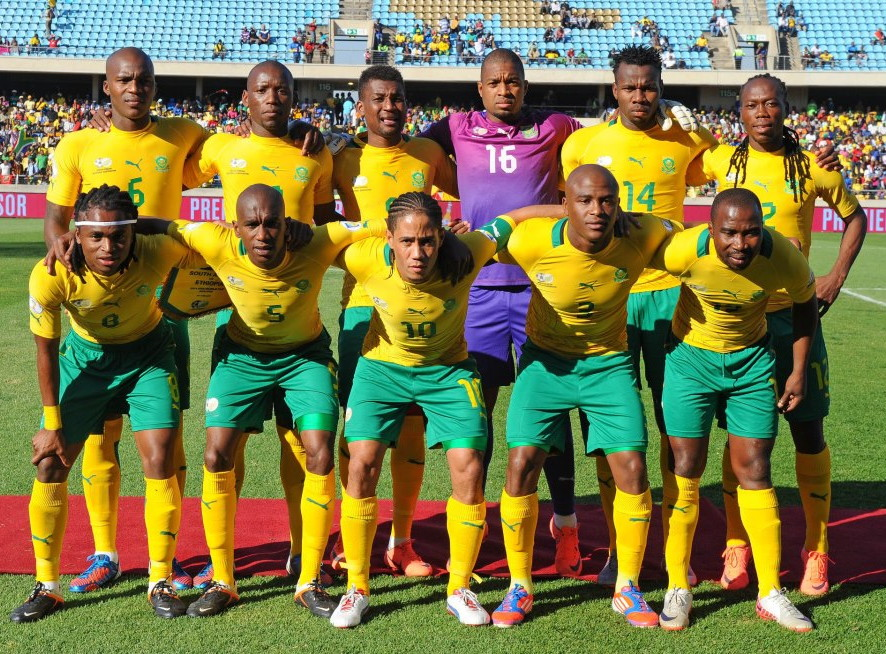 South Africa-12-13-PUMA-home-kit-yellow-green-yellow-line-up.jpg