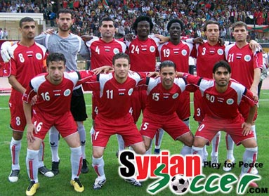Syria-10-11-DIADORA-home-kit-red-red-white-line up.JPG