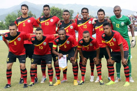 Timor-Leste-2015-mitre-home-kit-red-black-red-line-up.jpg