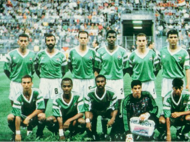 egypt-1990-adidas-world-cup-away-kit-green-white-green-line-up.png